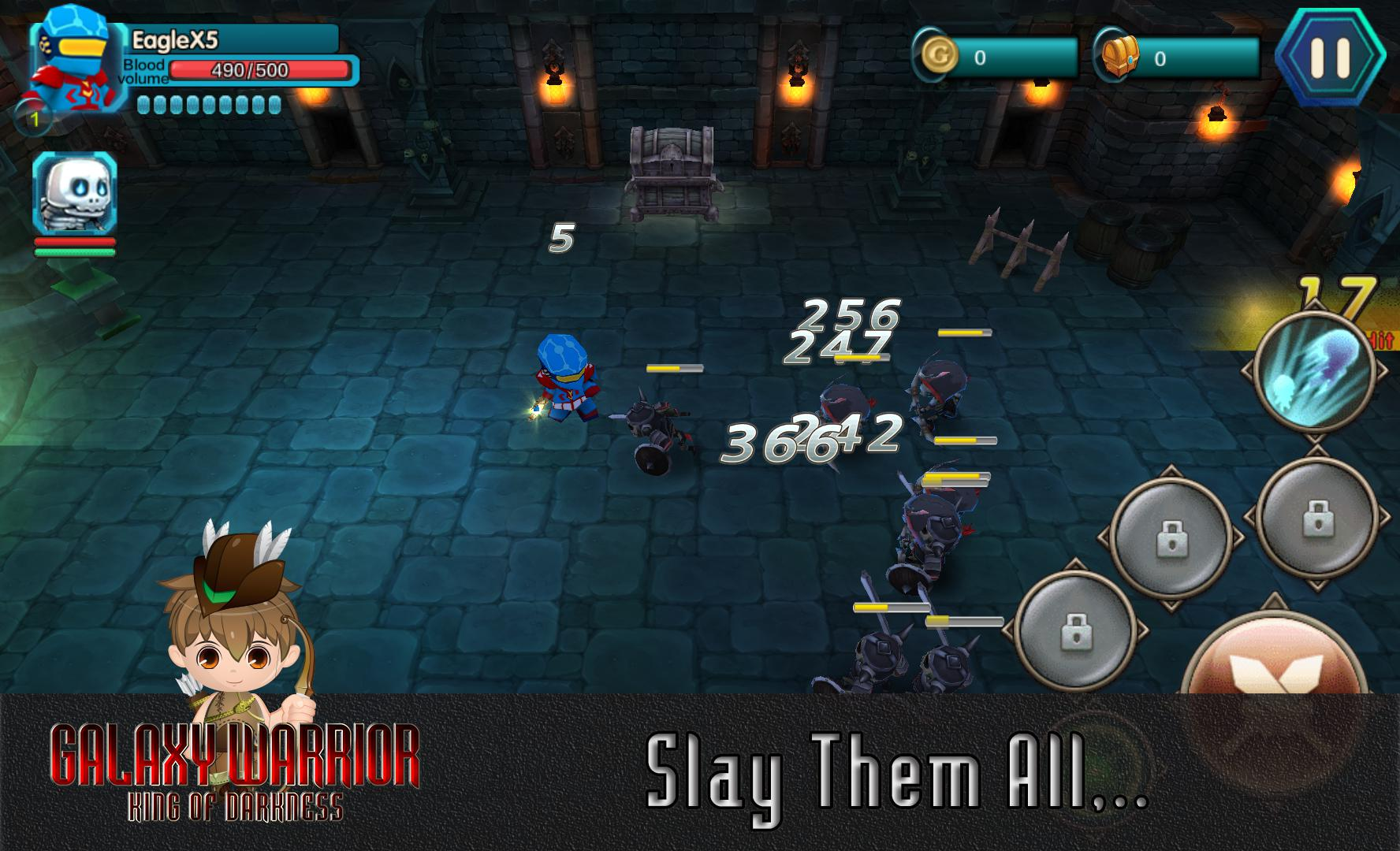 Galaxy Warriors - The Kingdom Of Darkness 游戏截图5