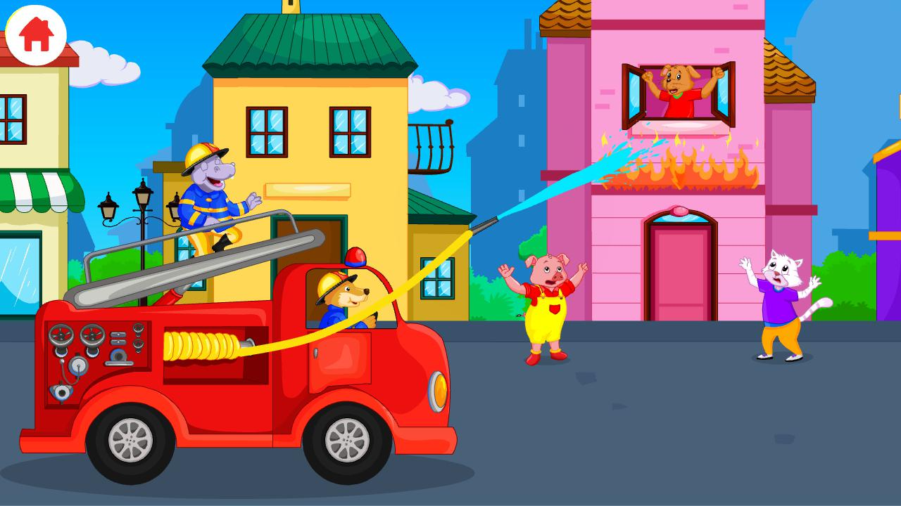 Garbage Truck Games for Kids - Free and Offline 游戏截图3
