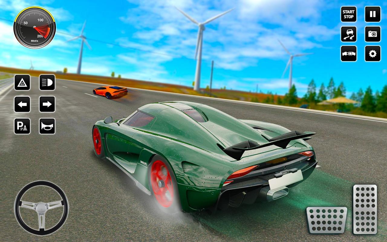山 交通 汽车 赛跑 2017年 3D 疯 驾驶 游戏截图3