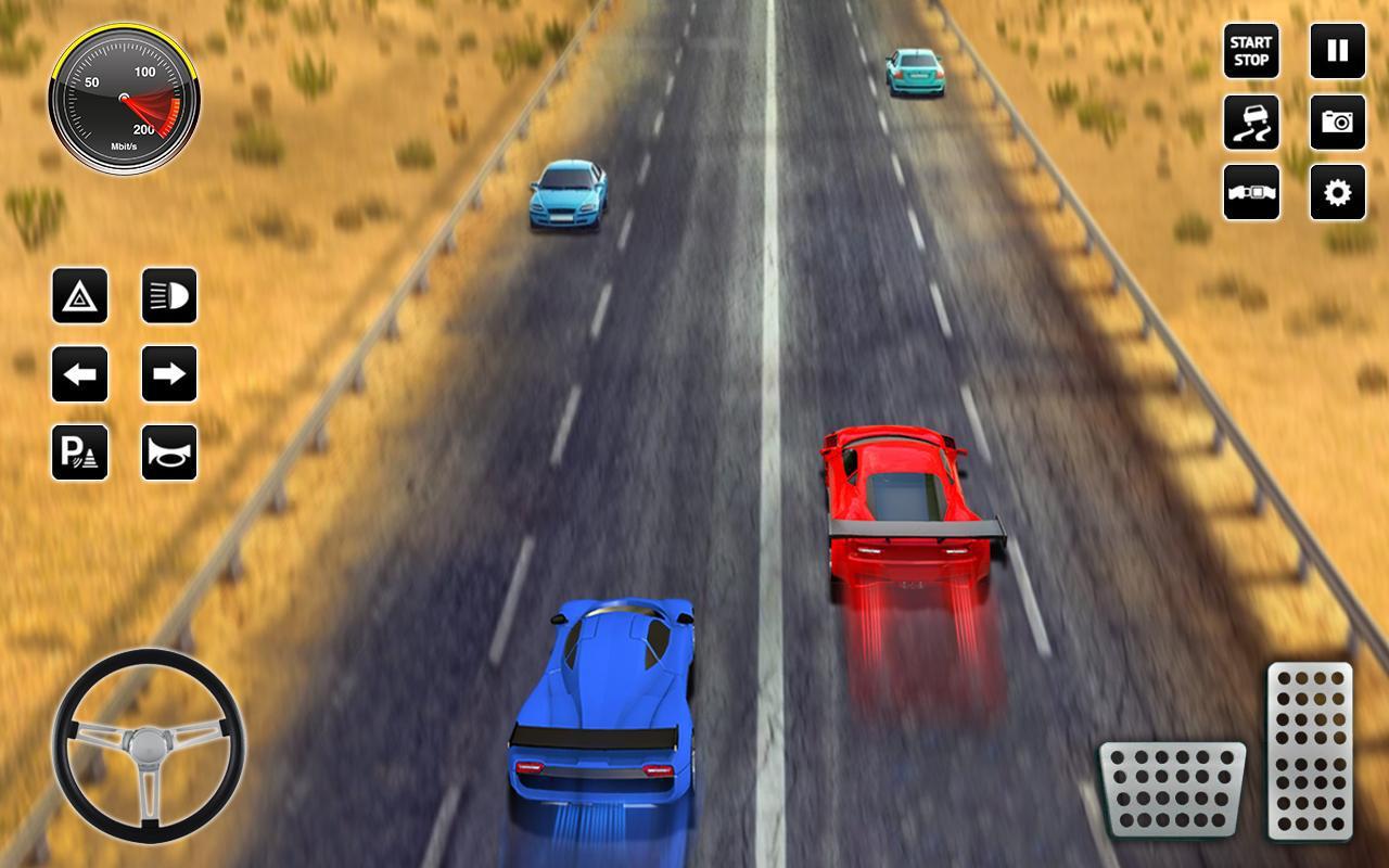 山 交通 汽车 赛跑 2017年 3D 疯 驾驶 游戏截图5