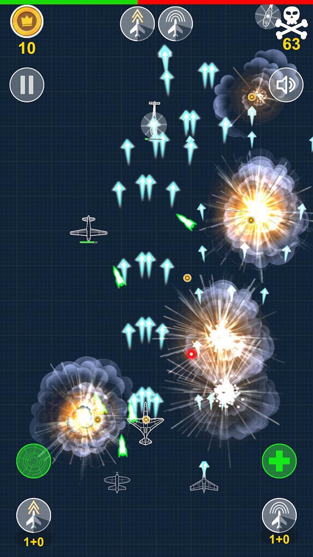 Aircraft Warriors Arcade Shoot Em Up 游戏截图1
