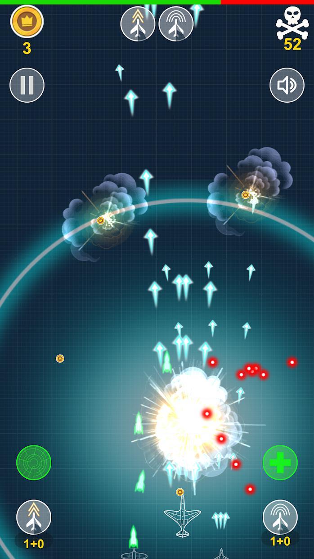 Aircraft Warriors Arcade Shoot Em Up 游戏截图2