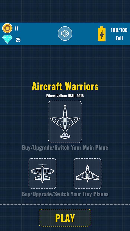 Aircraft Warriors Arcade Shoot Em Up 游戏截图3