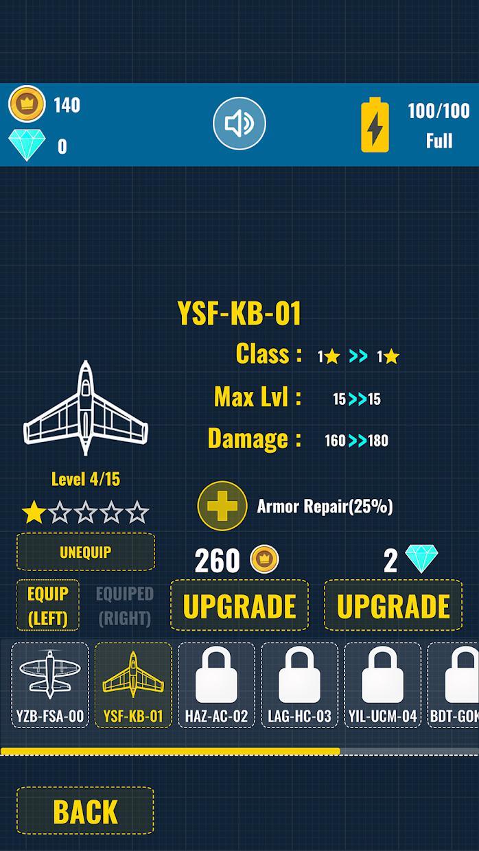 Aircraft Warriors Arcade Shoot Em Up 游戏截图5
