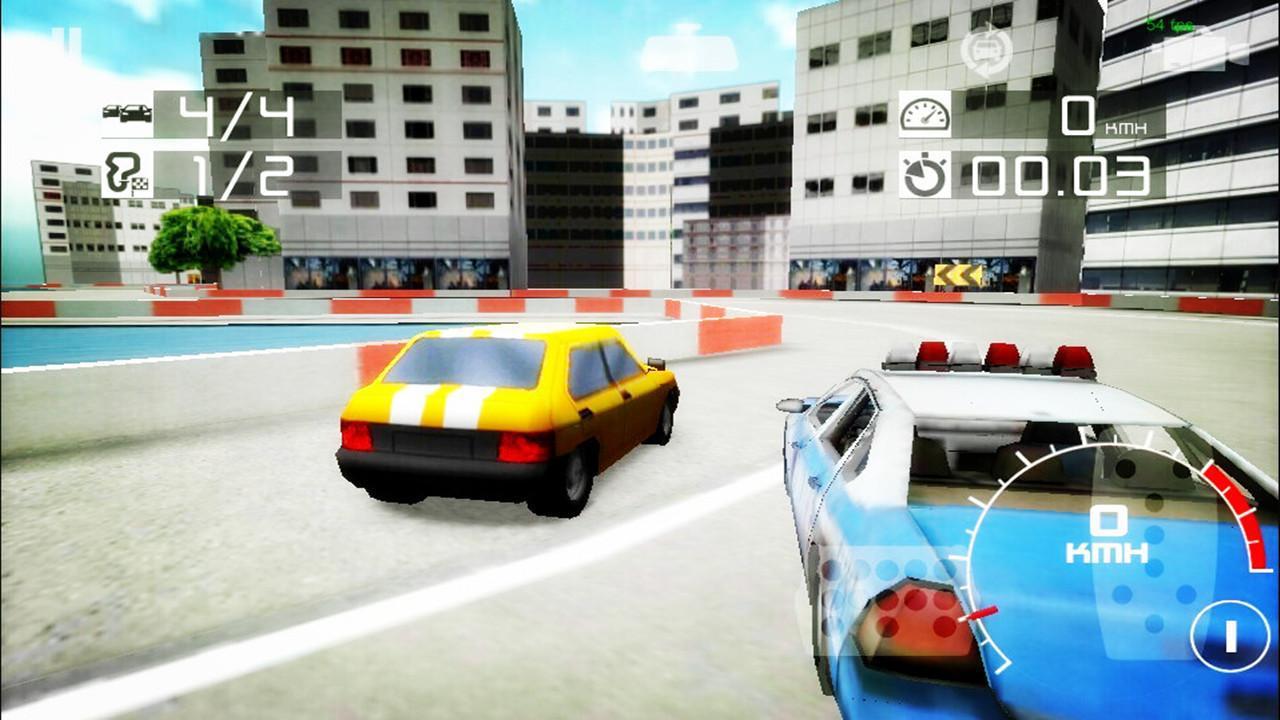 警车驾驶赛车漂移 3D 游戏截图4