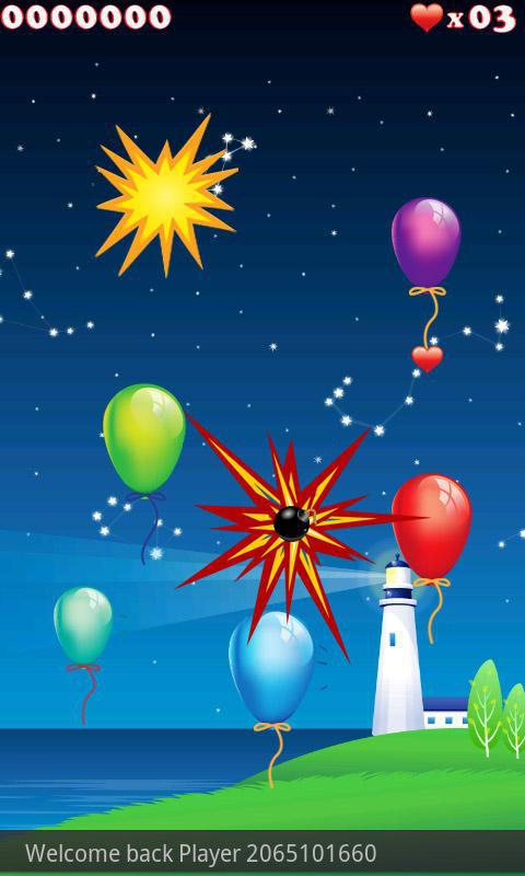 Tap The Balloons 游戏截图3