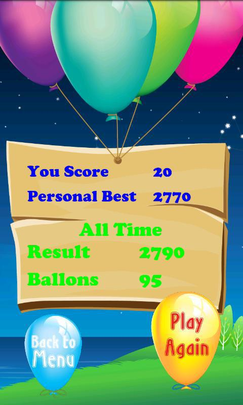 Tap The Balloons 游戏截图4