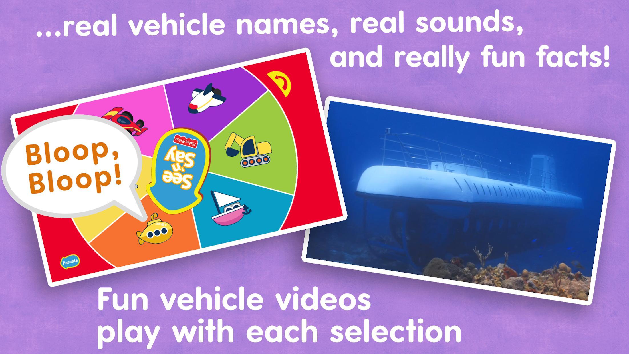 See 'n Say Vehicles 游戏截图2