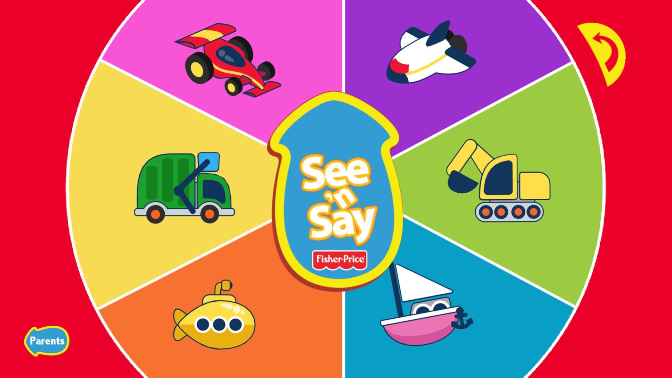 See 'n Say Vehicles 游戏截图5