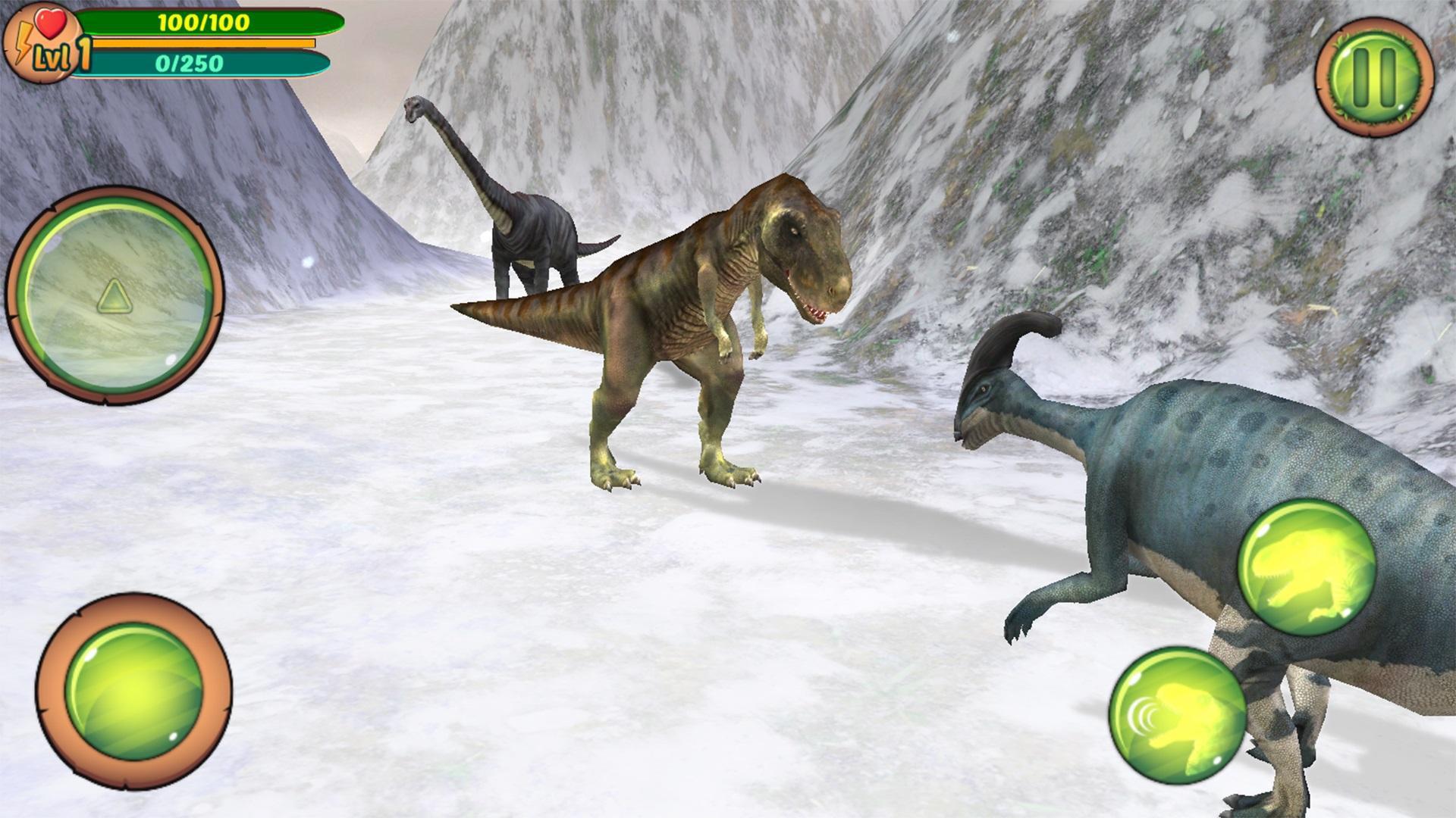 Jurassic Adventures 3D 游戏截图1