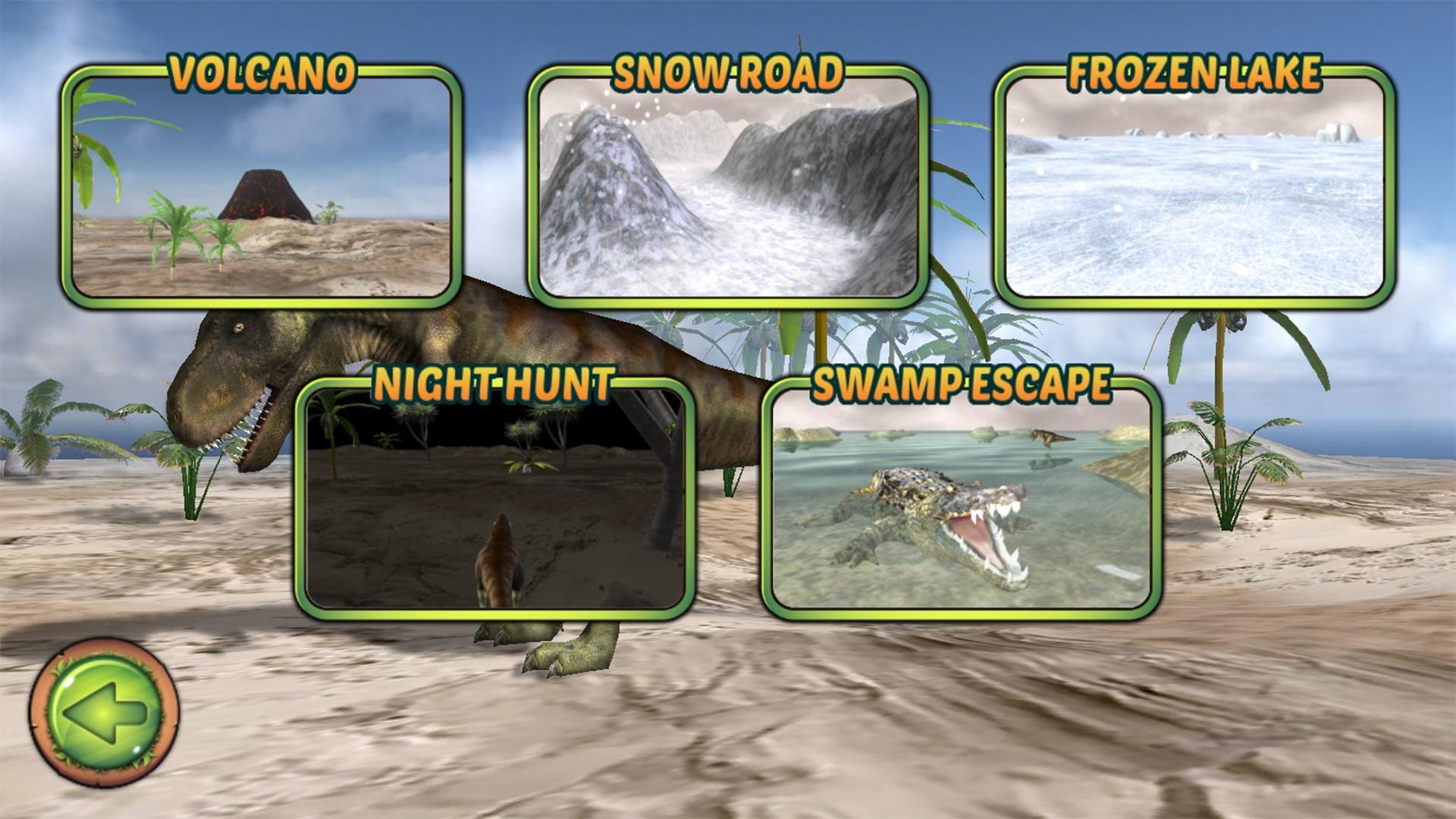 Jurassic Adventures 3D 游戏截图5