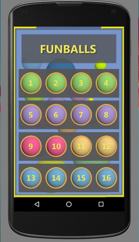 FunBalls Free Game 游戏截图1