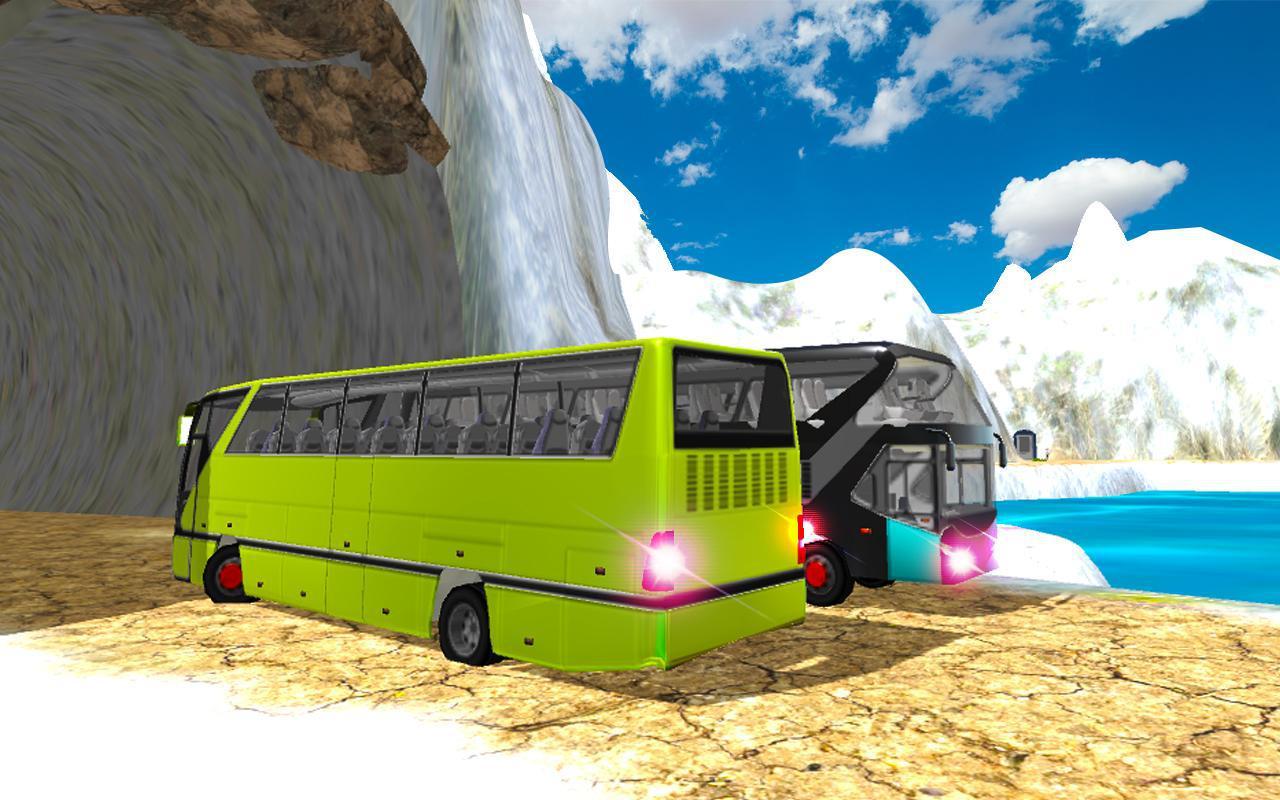 冬季巴士模拟器2018年雪圣诞派对 游戏截图5