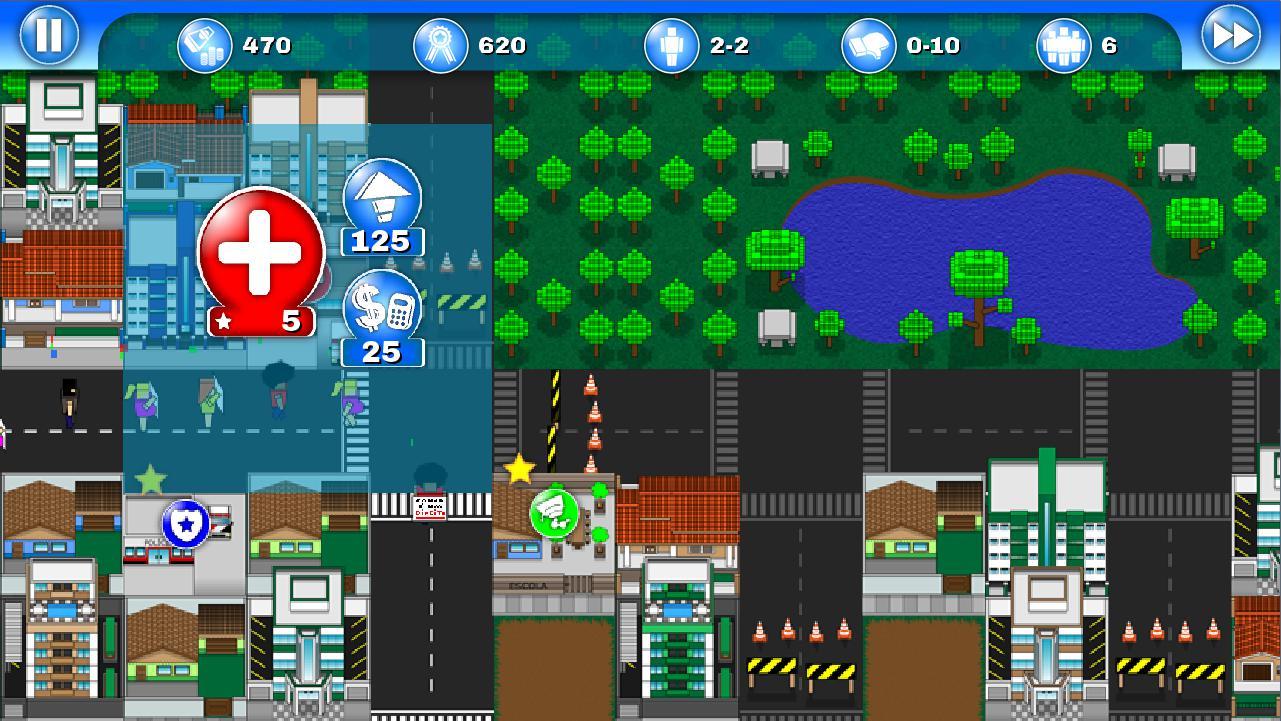 City Defenders - Free 游戏截图3