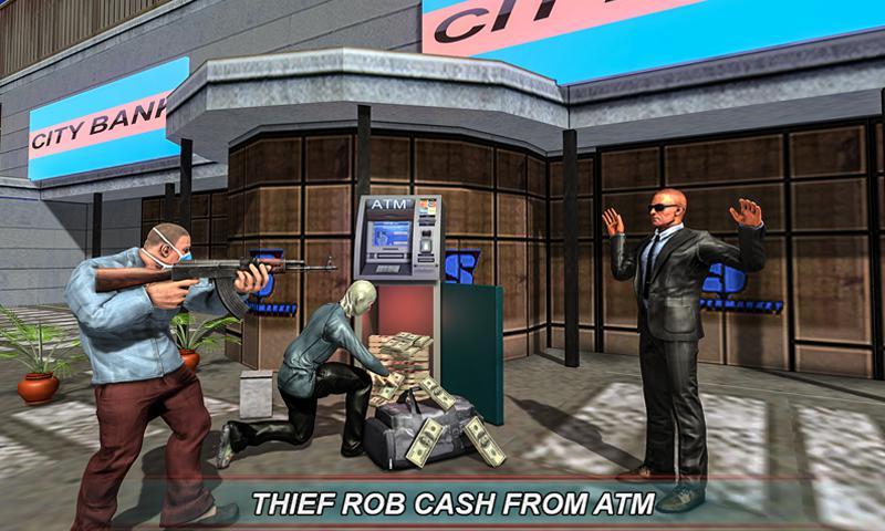 银行现金转移3D:安全范模拟器2018年 游戏截图3