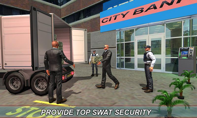 银行现金转移3D:安全范模拟器2018年 游戏截图4