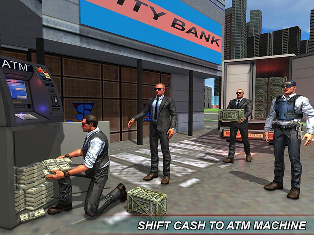 银行现金转移3D:安全范模拟器2018年 游戏截图5