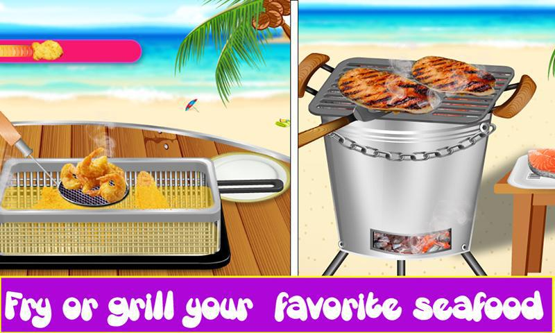 油炸海鲜食物狂欢节 游戏截图4
