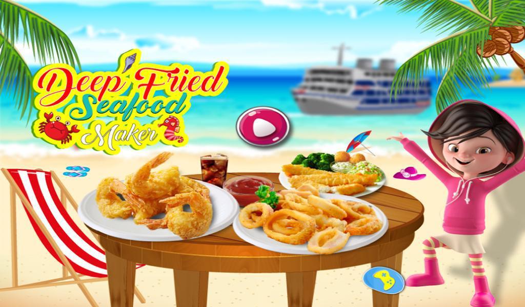 油炸海鲜食物狂欢节 游戏截图5