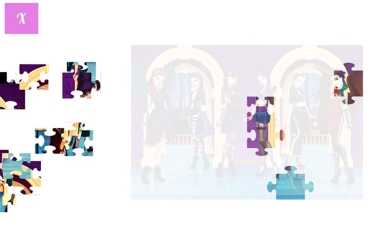 为女孩打造的时尚拼图游戏 游戏截图5