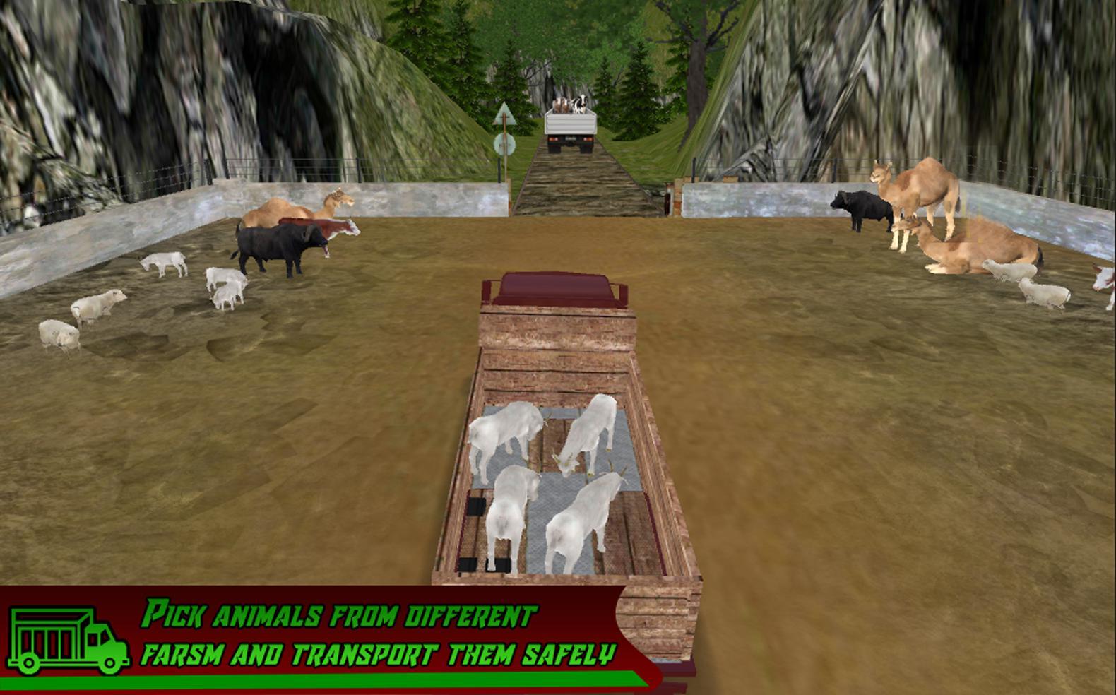 丛林农场动物运输 游戏截图5