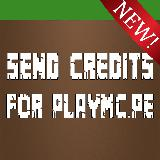 Send Credits For PlayMC.PE