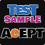 AcEPT UGM: Test Sample