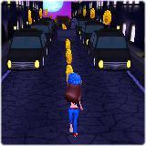 Subway Town: Princess Rush in Dark Night