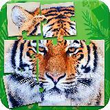 老虎拼图益智游戏