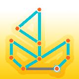 Connect the Graph: one touch connect dots puzzle