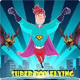 SUPER BOY FLYING