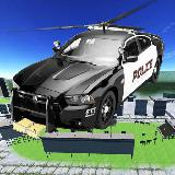 Police Flying Car - Helicopter