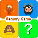 Memory Game for kids : Animals,monsters,emojis