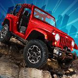 Uphill Stunt Drive mmx Truck
