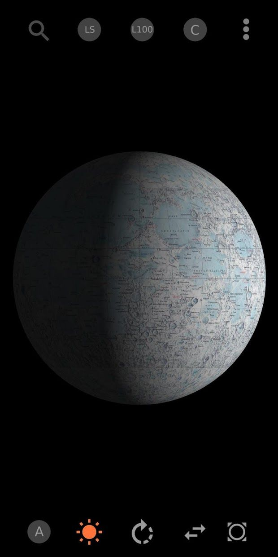 Moon Atlas 3D 游戏截图1