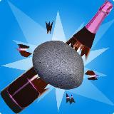 stone bottle shoot game