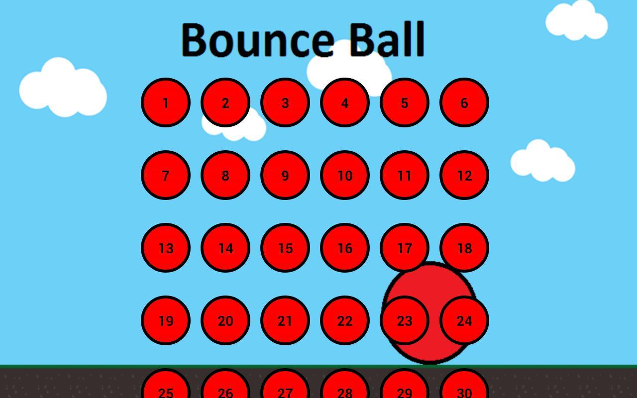 Bounce Ball 1 游戏截图1
