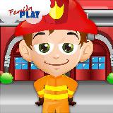 Math Games with the Fireman