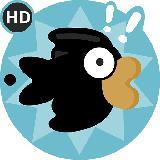Flippy Black Bird