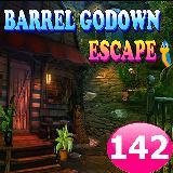 Barrel Godown Escape Game 142