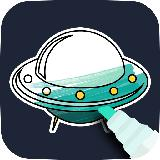 Space Coloring Game