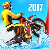 Bike Racing - Water Stunts