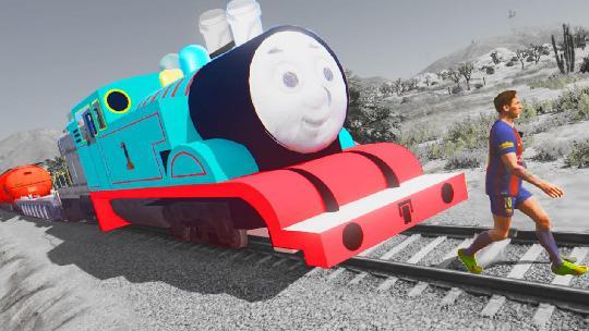 小朋友的托马斯火车,为何穿越到大人的游戏里? 图片5