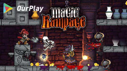 魔法狂暴 Magic Rampage:离神作只差一步的横版闯关游戏 图片1