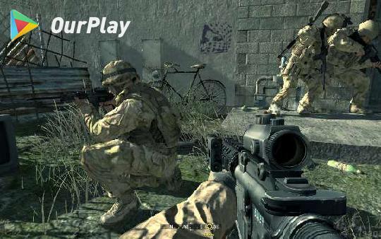 现代战争题材游戏