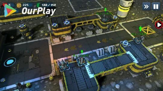 现代战争塔防游戏