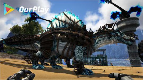方舟生存进化帝鳄-生存进化》手机版恐龙宝宝喂养教程