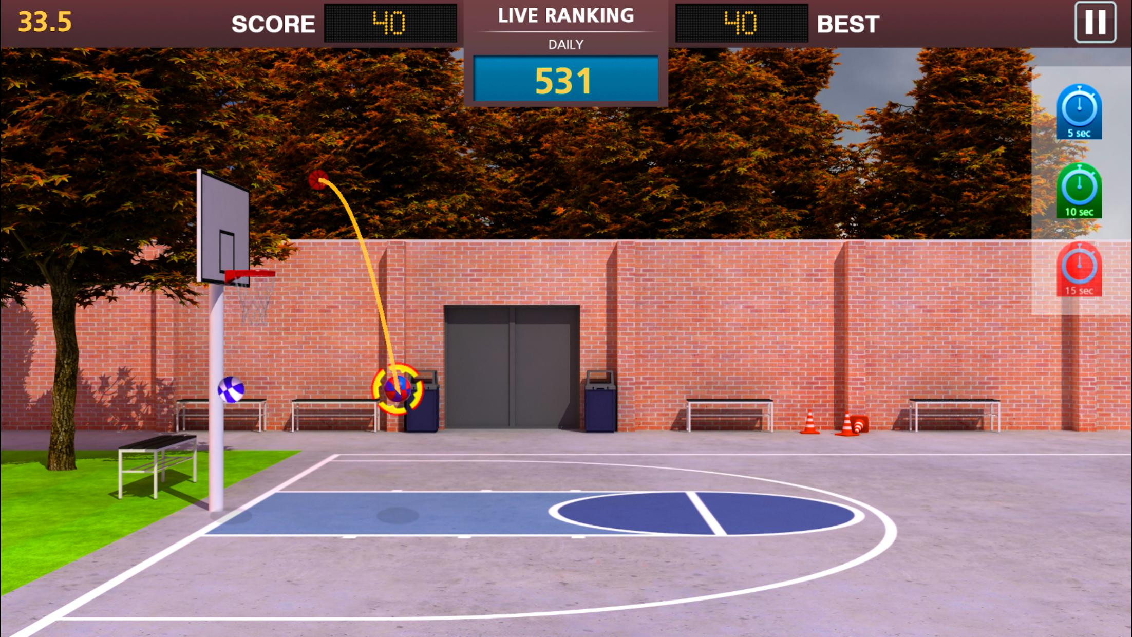 Basketball Mega Sports NBA Stars 游戏截图1