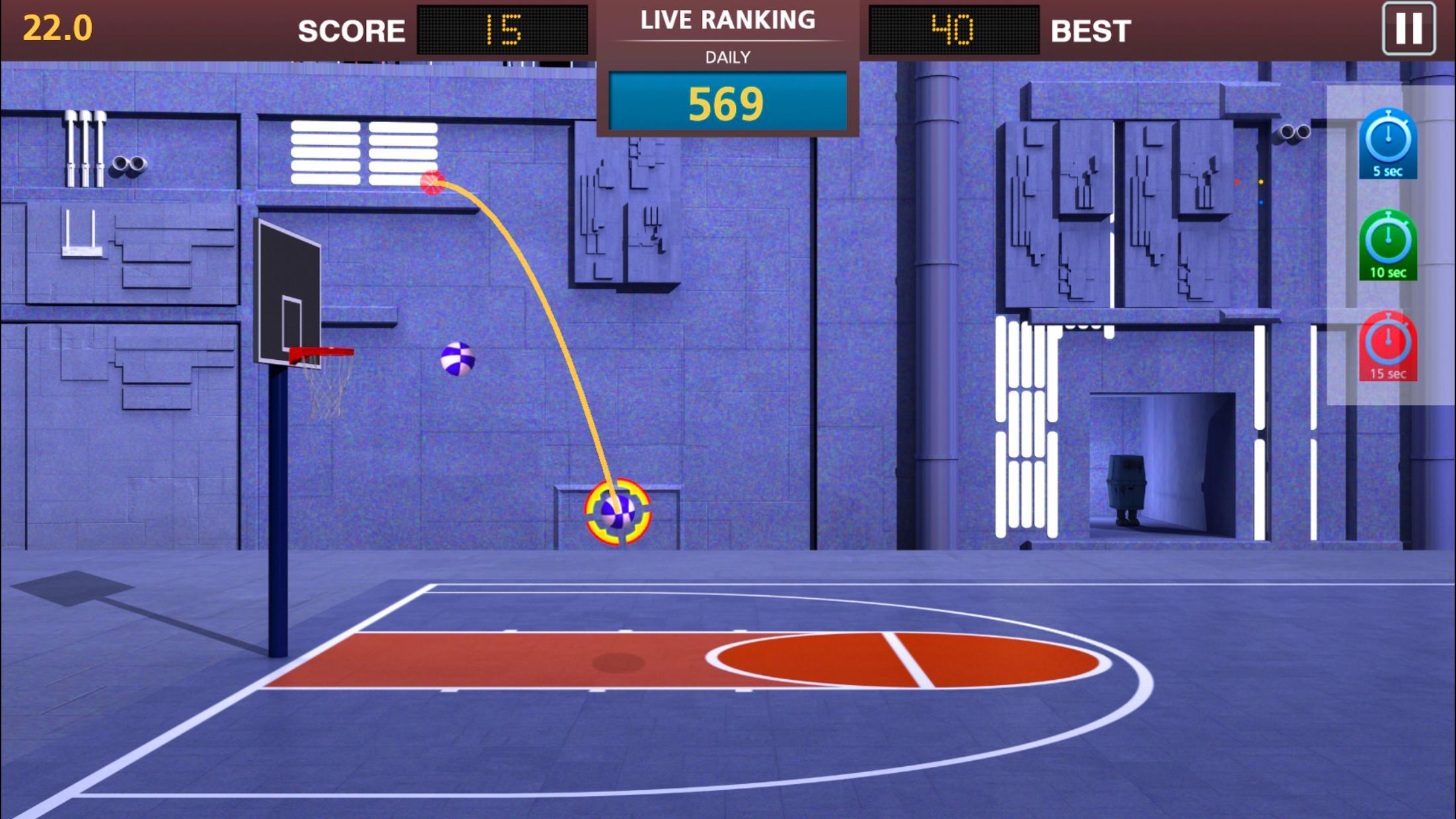 Basketball Mega Sports NBA Stars 游戏截图2