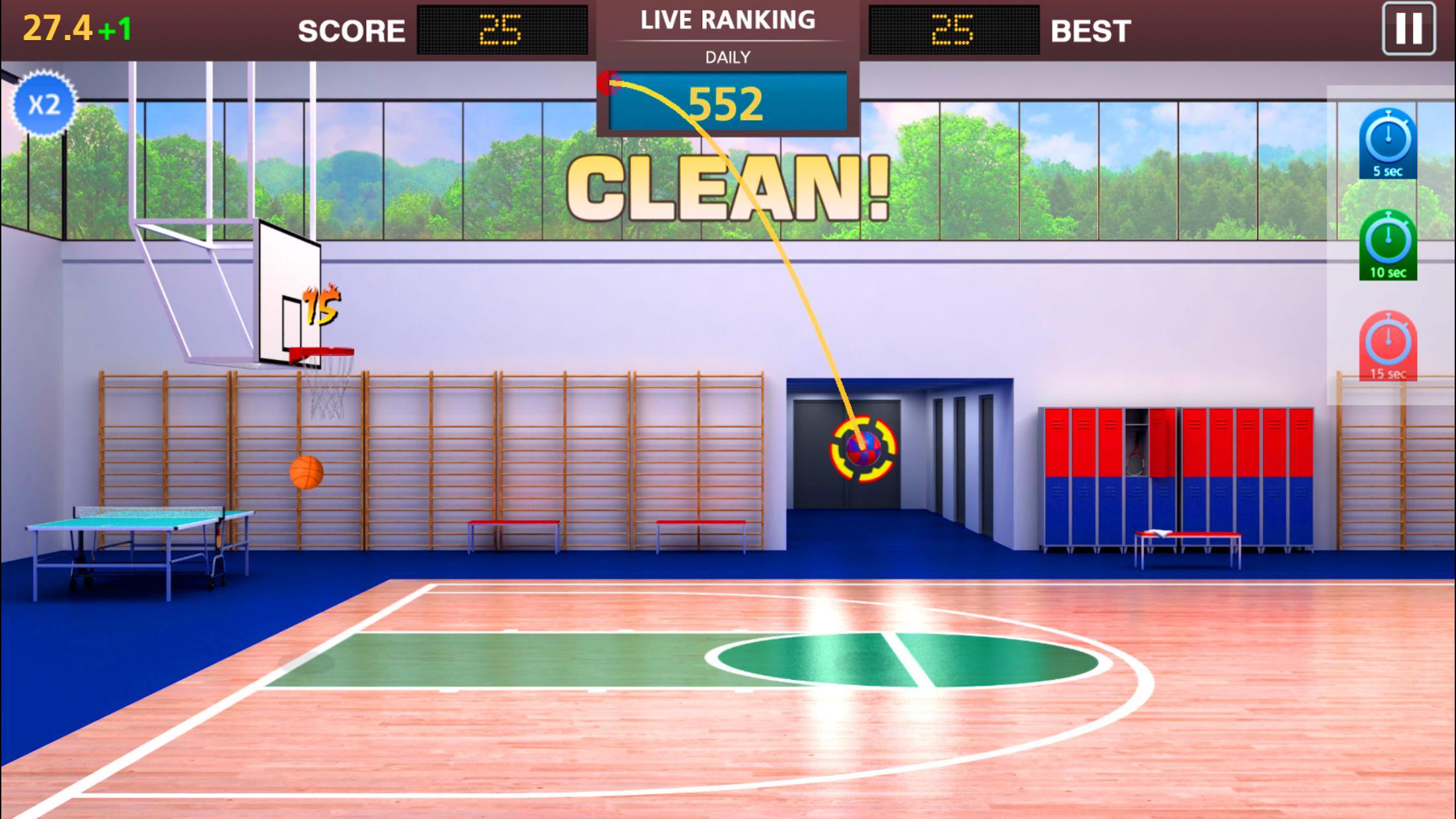Basketball Mega Sports NBA Stars 游戏截图3